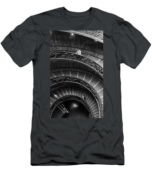 Vatican Stairs Men's T-Shirt (Athletic Fit)