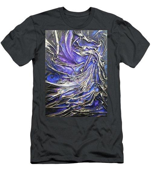 Veiled Figure Men's T-Shirt (Slim Fit) by Angela Stout