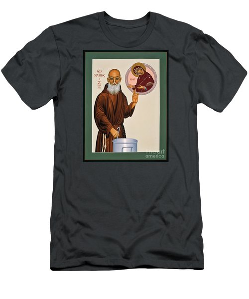 Venerable Fr. Solanus Casey The Healer 038 Men's T-Shirt (Athletic Fit)