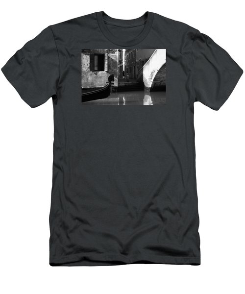 Men's T-Shirt (Slim Fit) featuring the photograph Venetian Daily Life by Yuri Santin