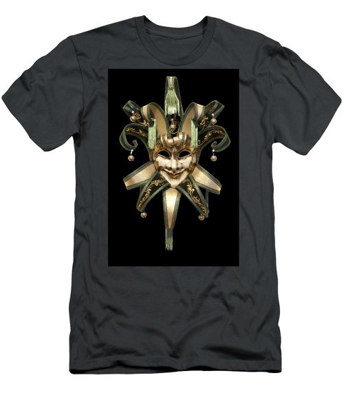 Venetian Mask Men's T-Shirt (Athletic Fit)