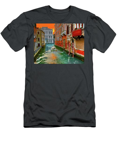 Venezia. Ca'gottardi Men's T-Shirt (Athletic Fit)