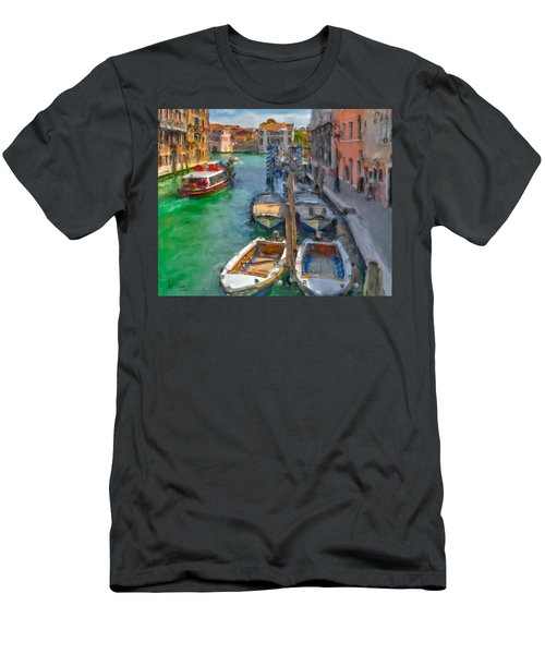 Venezia. Cannaregio Men's T-Shirt (Athletic Fit)