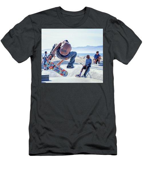 Venice Beach Skater Men's T-Shirt (Athletic Fit)