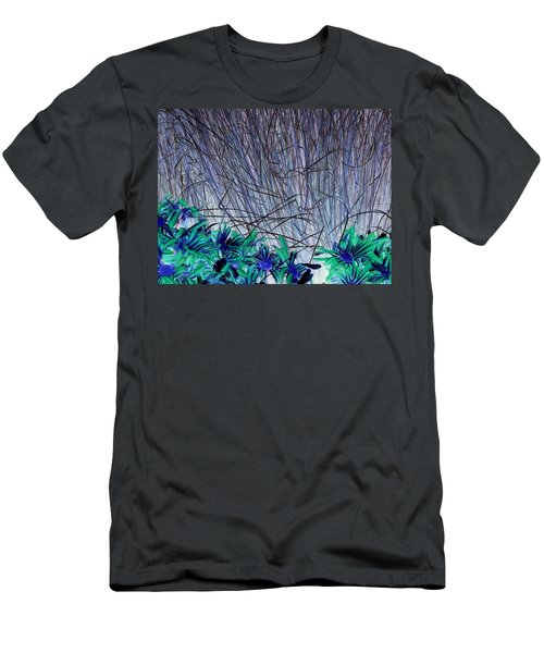 Venus Blue Botanical Men's T-Shirt (Athletic Fit)
