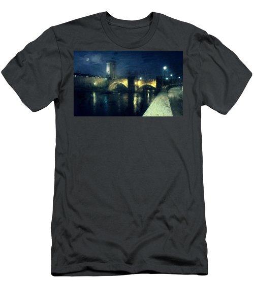 Verona, Castelvecchio Men's T-Shirt (Athletic Fit)
