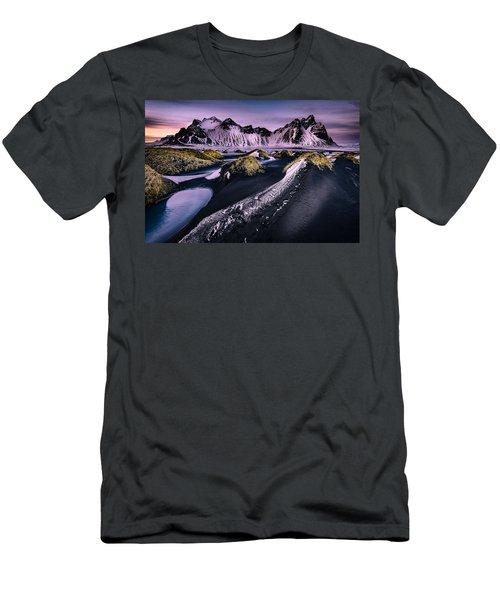 Vestrahorn, South Iceland Men's T-Shirt (Athletic Fit)