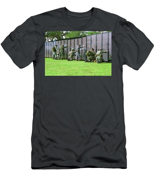 Veterans Memorial Men's T-Shirt (Athletic Fit)