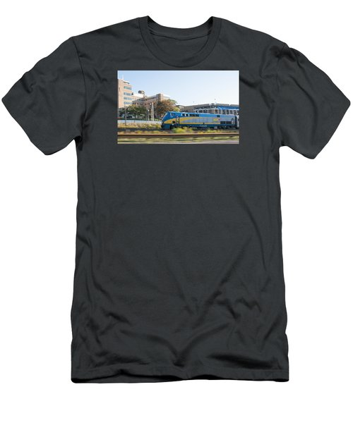 Via Rail Toronto Ontario Men's T-Shirt (Slim Fit) by John Black