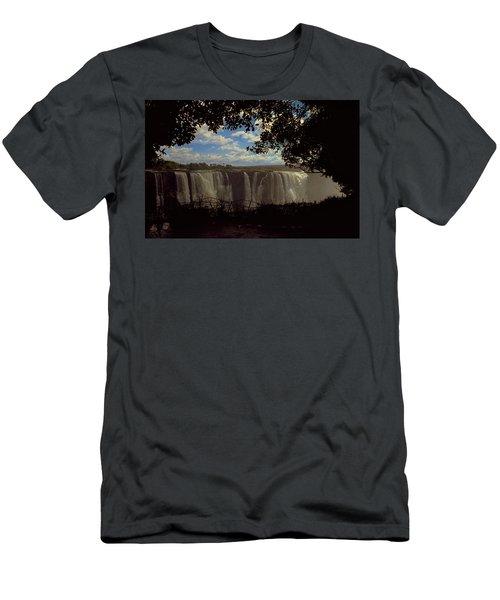 Victoria Falls, Zimbabwe Men's T-Shirt (Athletic Fit)