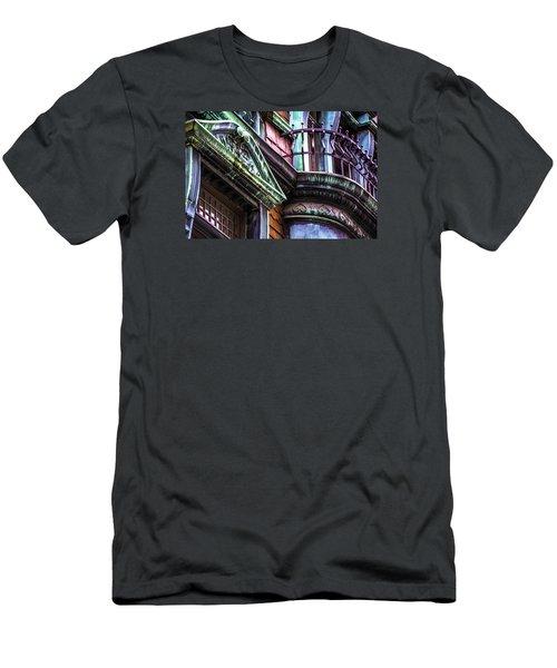 Victorian On Rush V2 Men's T-Shirt (Slim Fit) by Raymond Kunst