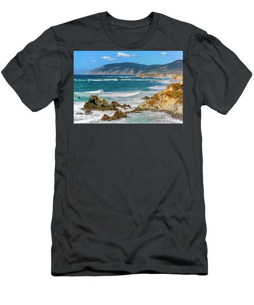 View From Abalone Point Men's T-Shirt (Athletic Fit)