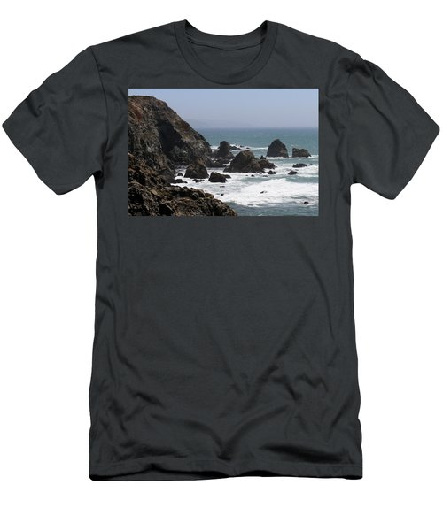View From Bodega Head In Bodega Bay Ca - 4 Men's T-Shirt (Athletic Fit)