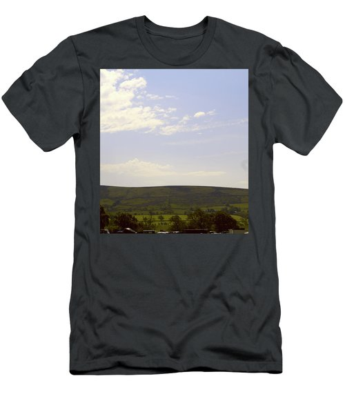 Men's T-Shirt (Athletic Fit) featuring the photograph View From Chipping by JLowPhotos