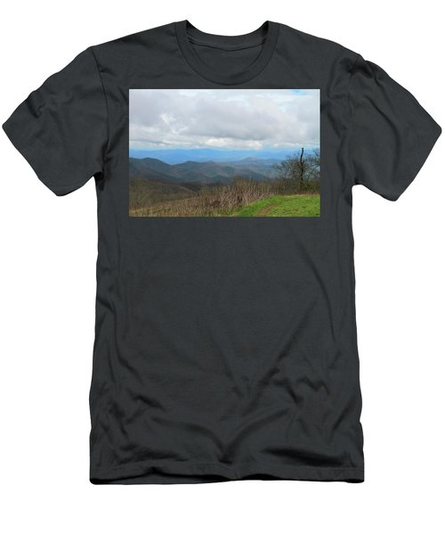 View From Silers Bald 2015d Men's T-Shirt (Athletic Fit)