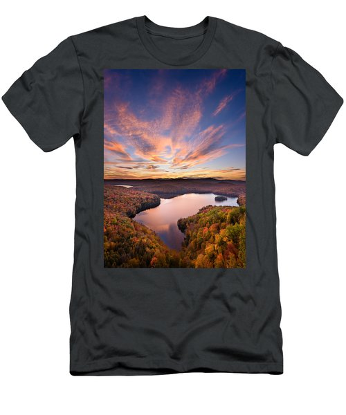 View From The Ledge Men's T-Shirt (Athletic Fit)
