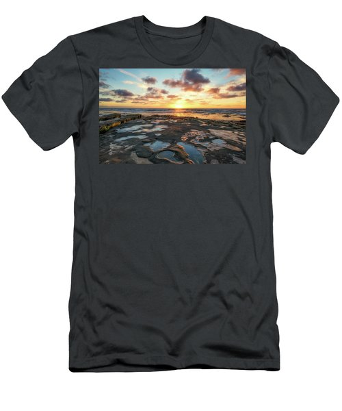 View From The Reef Men's T-Shirt (Slim Fit) by Joseph S Giacalone