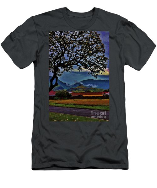 View From The School Yard Men's T-Shirt (Athletic Fit)