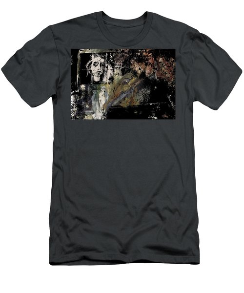 Men's T-Shirt (Athletic Fit) featuring the digital art View From The Window by Jim Vance