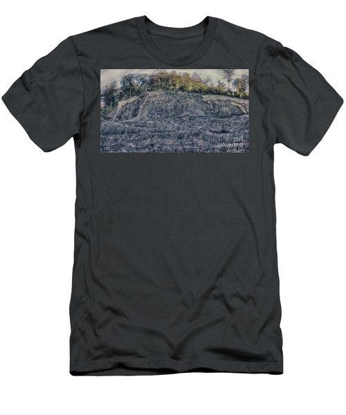 View Of A Quarry Men's T-Shirt (Athletic Fit)