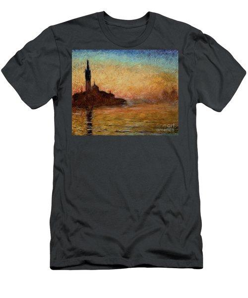 View Of San Giorgio Maggiore Men's T-Shirt (Athletic Fit)