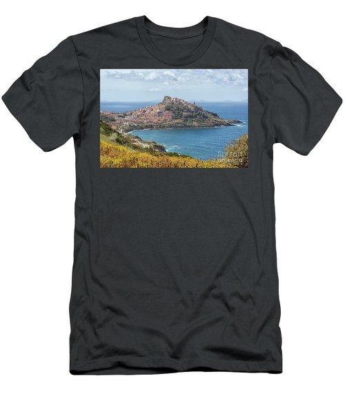 View On Castelsardo Men's T-Shirt (Athletic Fit)