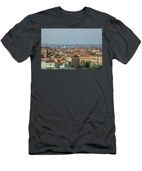 View On Venice Men's T-Shirt (Slim Fit) by Patricia Hofmeester