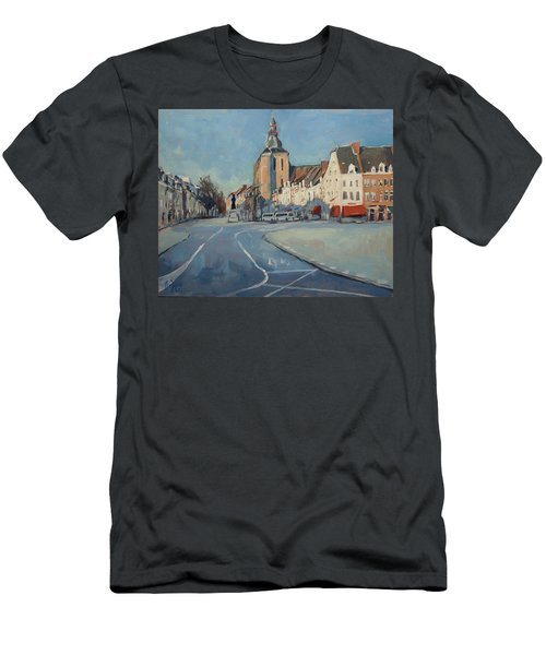View To Bosch Street Men's T-Shirt (Athletic Fit)