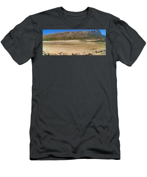 View To Gramvousa Men's T-Shirt (Athletic Fit)