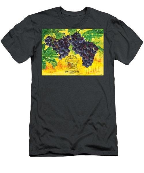 Vigne De Raisins Men's T-Shirt (Athletic Fit)