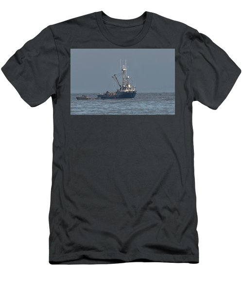 Men's T-Shirt (Slim Fit) featuring the photograph Viking Fisher 1 by Randy Hall
