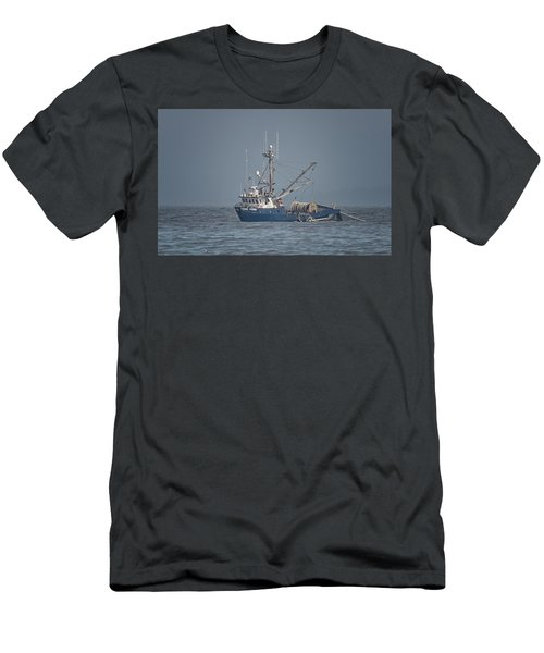 Men's T-Shirt (Slim Fit) featuring the photograph Viking Fisher 4 by Randy Hall
