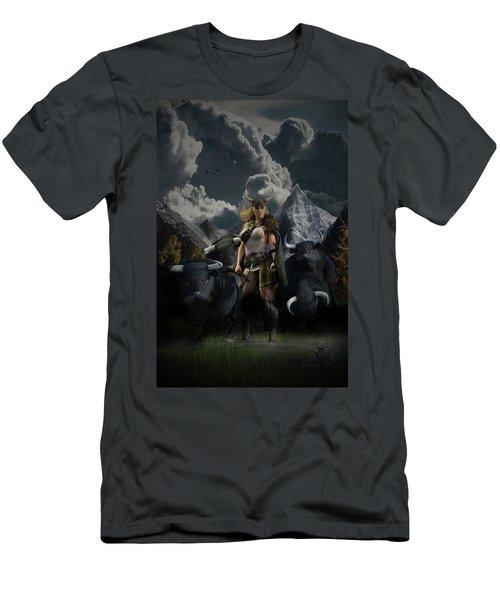 Viking Gefjon Men's T-Shirt (Athletic Fit)