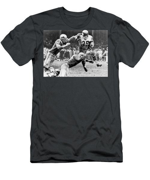 Viking Mcelhanny Gets Tackled Men's T-Shirt (Athletic Fit)