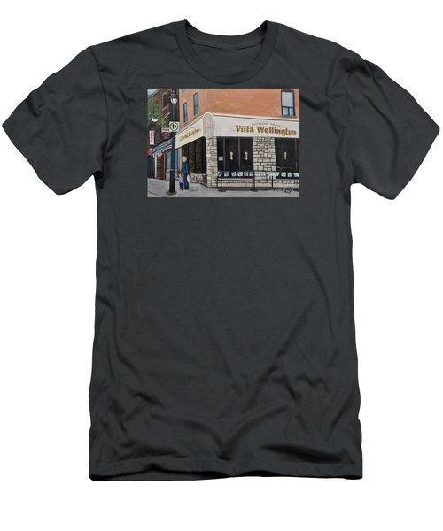 Villa Wellington In Verdun Men's T-Shirt (Athletic Fit)