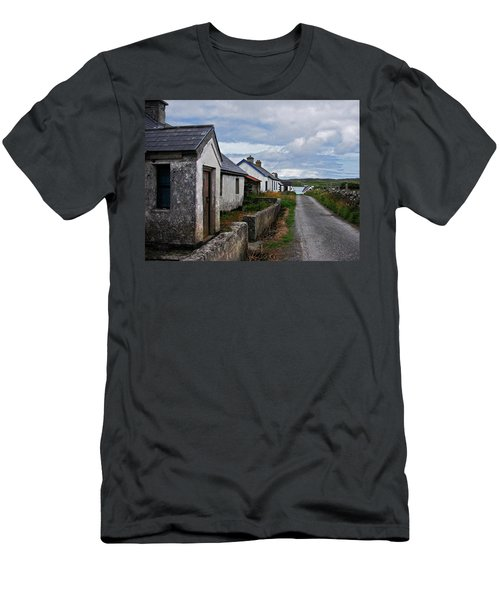 Village By The Sea Men's T-Shirt (Athletic Fit)