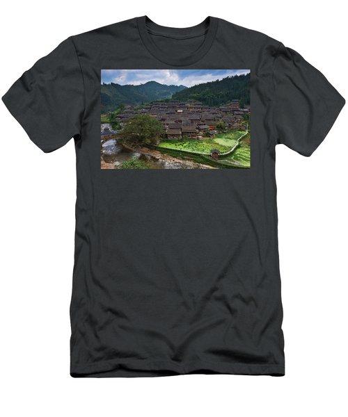 Village Of Joy Men's T-Shirt (Athletic Fit)