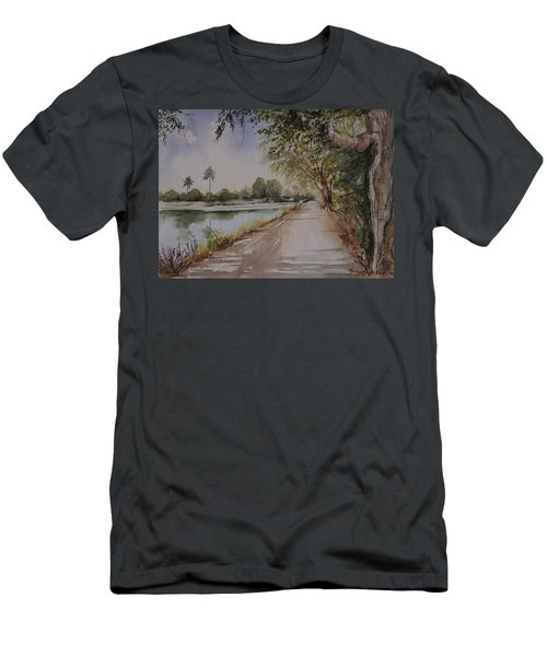Village Road Men's T-Shirt (Athletic Fit)