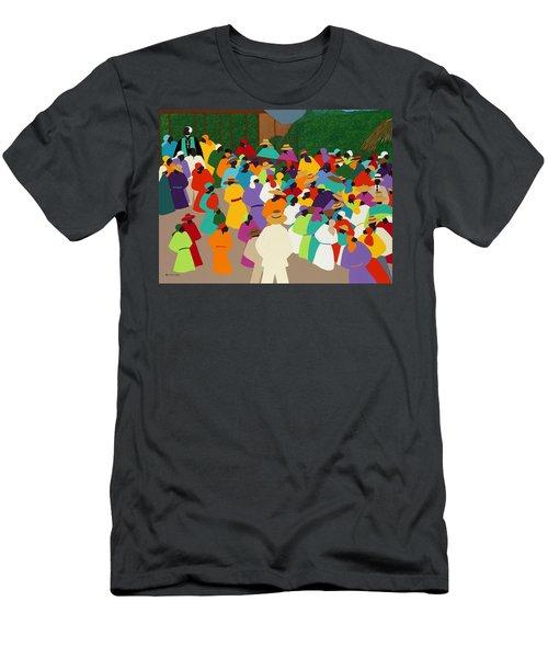 Ville Bonheur Men's T-Shirt (Athletic Fit)