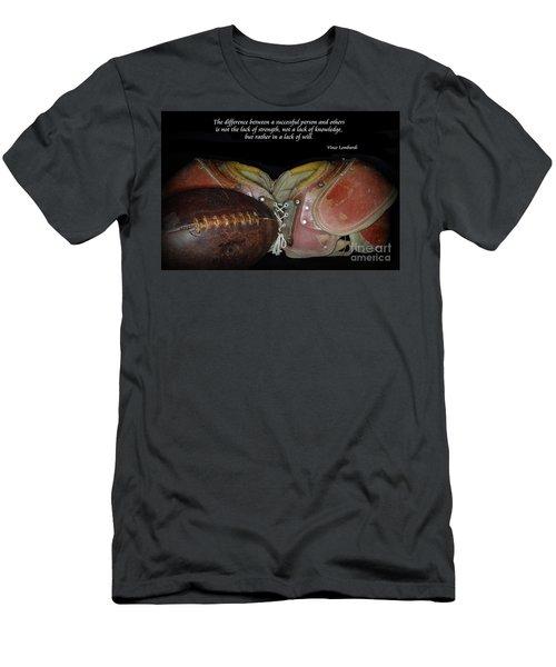 Vince Lombardi On Success Men's T-Shirt (Athletic Fit)