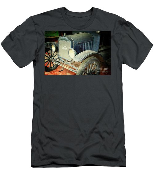 Vintage Ford Men's T-Shirt (Slim Fit) by Inspirational Photo Creations Audrey Woods