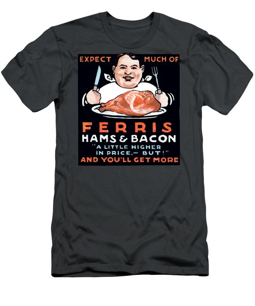 Vintage Ham And Bacon Men's T-Shirt (Athletic Fit)