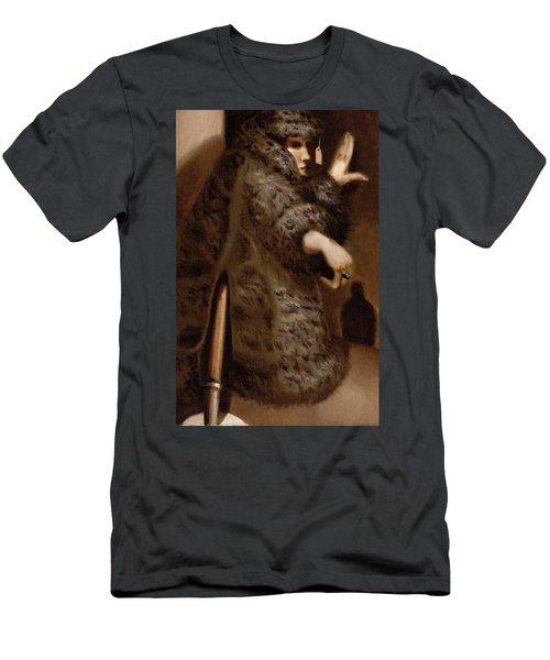 Tommervik Vintage Storefront Mannequin Art Print Men's T-Shirt (Athletic Fit)