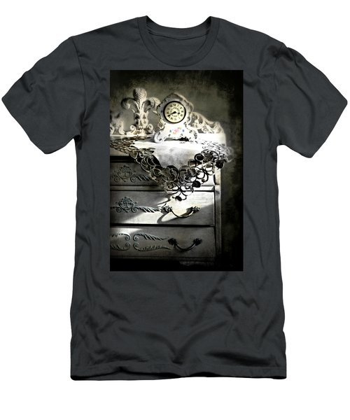 Men's T-Shirt (Slim Fit) featuring the photograph Vintage Time by Diana Angstadt
