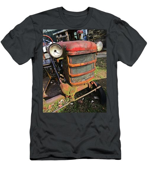 Vintage Tractor Mower Men's T-Shirt (Athletic Fit)