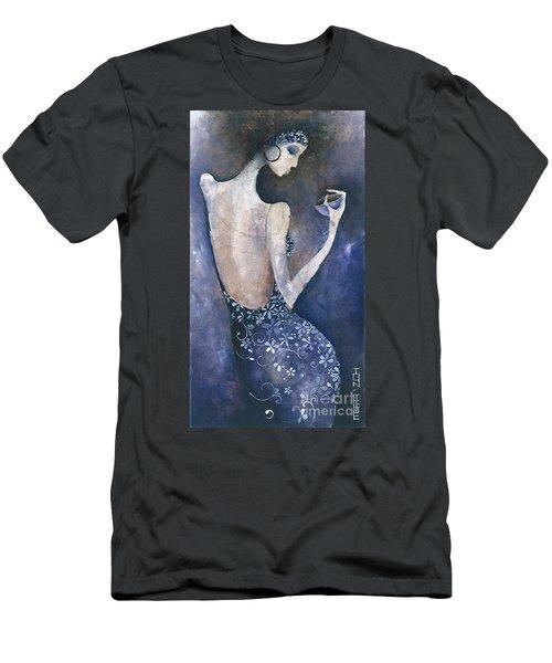 Violet Inspiration Men's T-Shirt (Slim Fit) by Maya Manolova