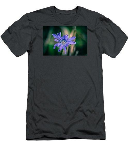 Men's T-Shirt (Slim Fit) featuring the photograph Violet by Michaela Preston