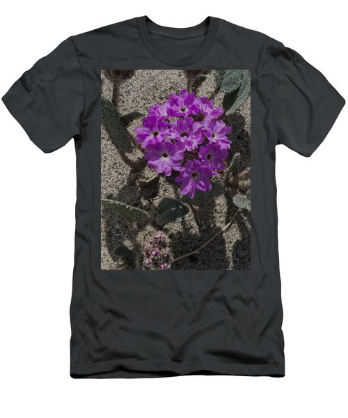 Violets In The Sand Men's T-Shirt (Slim Fit) by Jeremy McKay