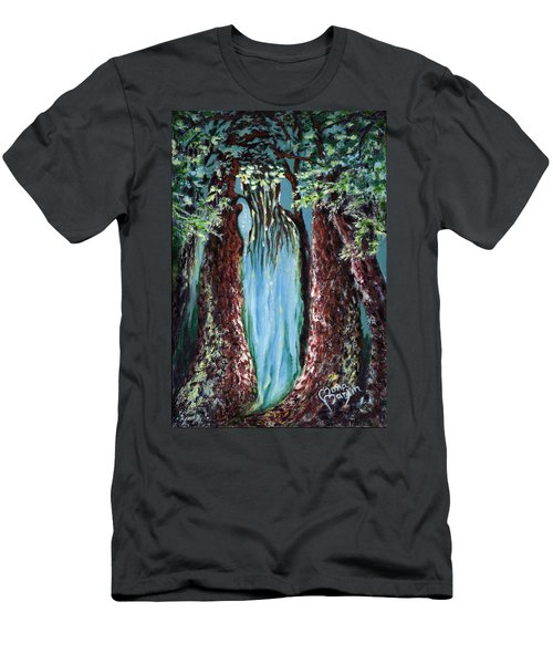 Virgin Forest Men's T-Shirt (Athletic Fit)