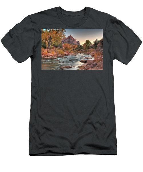 Virgin River And The Watchman Men's T-Shirt (Athletic Fit)